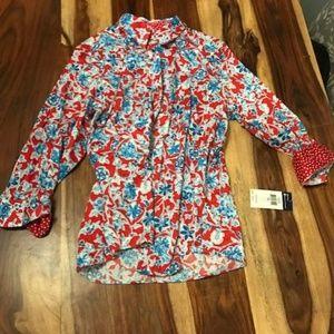 Chaps Button Down Shirt NWT